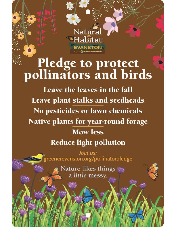 Pollinator Pledge Sign 1