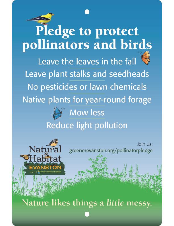 Pollinator Pledge Sign 3