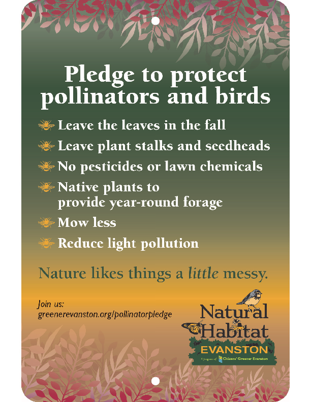 Pollinator Pledge Sign 2